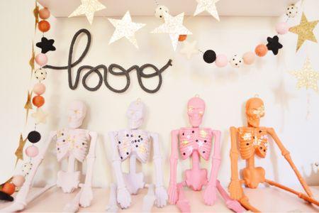 Halloween diy, Halloween decor, pink decor, pink Halloween decor, girls room, girls room decor, Etsy finds  #LTKhome #LTKfamily #LTKkids