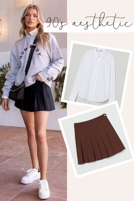 Rounding up a few of fall biggest trends like pleated skirts, crisp white shirts and more!   #LTKstyletip #LTKunder100