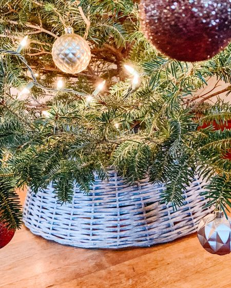 Are you team Tree Collar or Tree Skirt? This year I switched to a collar and I'm never turning back! I am loving it 🎄 I grabbed mine at Hobby Lobby,  and linked several on the @liketoknow.it App. Screenshot this picture to shop on the App; or you can shop the link in my bio.   #mountainmomma #mountainmama #christmastree #christmastreecollar #treecollar #christmas #christmasdecor #liketkit #LTKhome #LTKunder50 http://liketk.it/30kEn