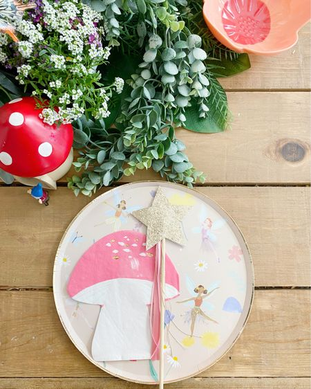 Fairy 4th Birthday 🧚♀️ 🍄✨ Table decor linked or shop on the @liketoknow.it app.   http://liketk.it/3aOkl #liketkit #LTKfamily #LTKkids @liketoknow.it.family @liketoknow.it.home
