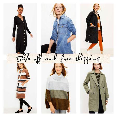Fall outfits, shacket, midi dress   #LTKsalealert #LTKunder50 #LTKcurves