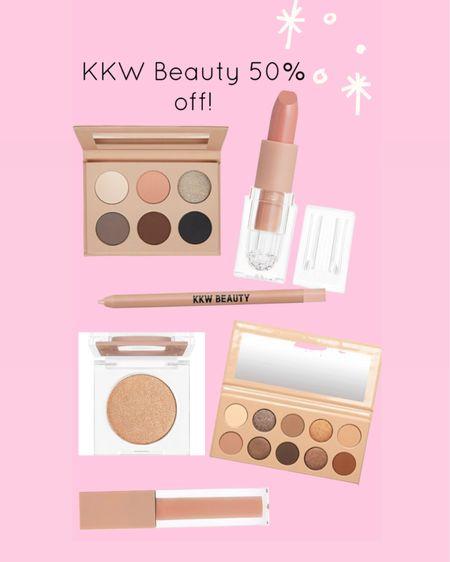 KKW beauty 50% off http://liketk.it/3hZdI #liketkit @liketoknow.it #LTKbeauty #LTKsalealert