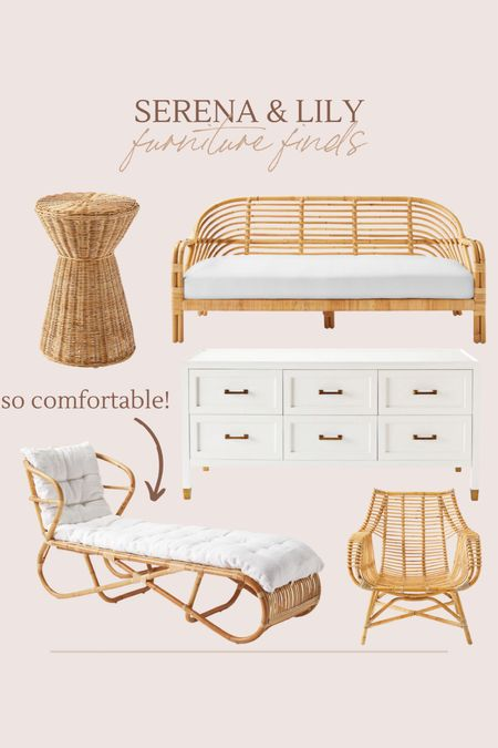 Serena & Lily home furniture I'm loving!!   #LTKhome