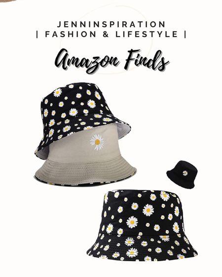 Reversible daisy bucket hats perfect for summer! Amazon finds http://liketk.it/3h4kZ #liketkit @liketoknow.it #LTKsalealert #LTKDay #LTKswim Download the LIKEtoKNOW.it shopping app to shop this pic via screenshot