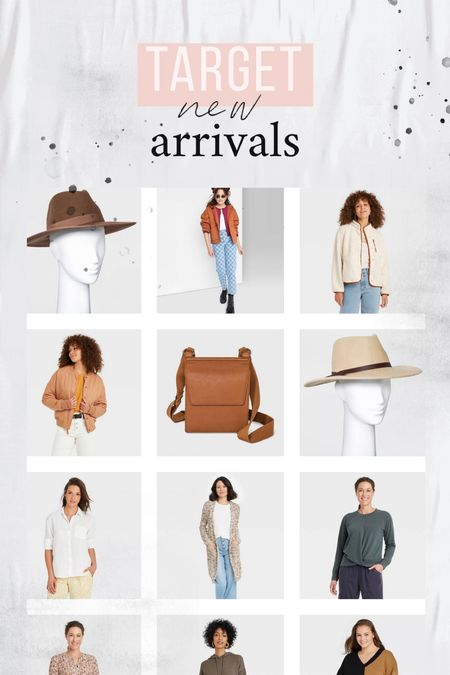 Target new arrivals in fashion!