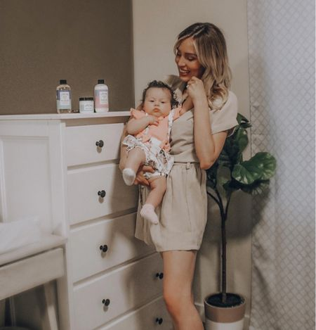 Not going to lie, I sometimes use Jackie's baby bath wash and lotion because it so gentle! 🙋🏼♀️  Since bath time is apart of our night routine, I love that @tubbytodd has calming aromas like lavender and rosemary in their body wash and lotions. Jackie has had some dry patches so the All Over Ointment has really helped with that. Definitely worth a try for sensitive/dry skin!  #LTKfamily #LTKbaby #LTKSeasonal