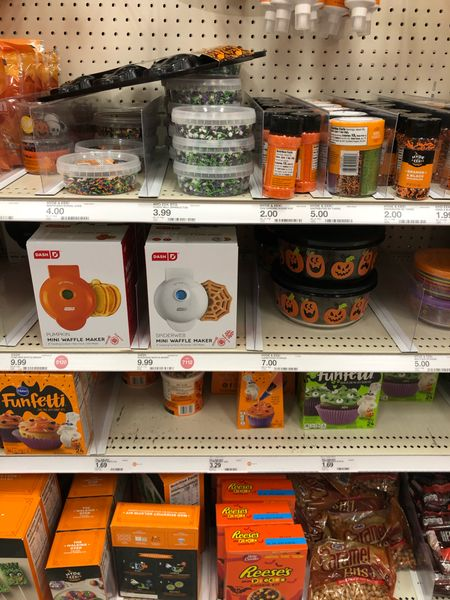 My local @target is starting to stock their Halloween aisle 🙌🍁.   #LTKunder50 #LTKfamily #LTKSeasonal