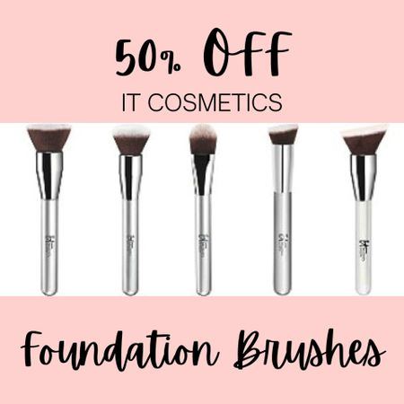 Grab your PERFECT foundation brush from It Cosmetics during Ulta's 21 Days of Beauty sale today only!   #LTKSpringSale #LTKbeauty #LTKunder50