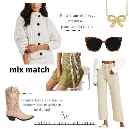 Mix and match your neutrals.   #LTKshoecrush #LTKSale #LTKstyletip