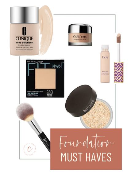 From foundation to power, these are my must haves for my face.   #LTKunder50 #LTKbeauty #LTKunder100