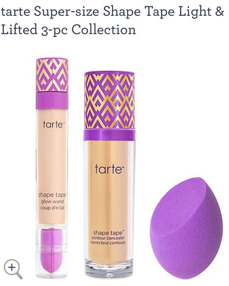 This is a crazy deal! The normal size of shape tape concealer is $27 and with this you get a super sized one which is basically two....plus the shape tape glow wand and a sponge for under $40! http://liketk.it/2WJ6h #liketkit @liketoknow.it #LTKbeauty #LTKunder50 #LTKsalealert