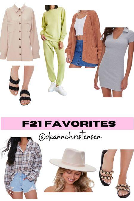 F21 Favorites 👌🏼💖 #fallfinds #looksforless #afforadblefashion #fallinspired  #LTKsalealert #LTKshoecrush #LTKstyletip