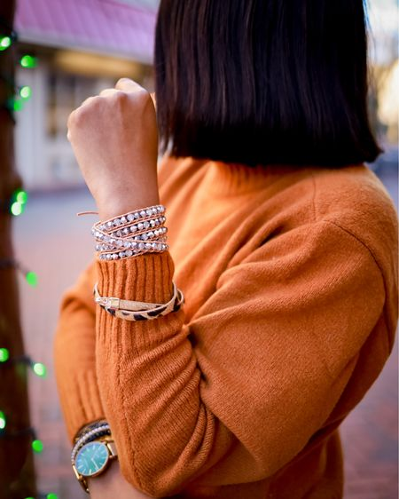 We can't deny that there's that certain pizazz 💎 that jewelry adds to our outfit. When it comes to major arm candy, @victoriaemerson never disappoints with their classic & stylish wraps.✨ I'm still going strong with all my favs from this awesome brand.😍  #LTKsalealert #LTKstyletip #LTKunder50