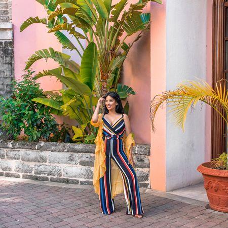 Everything in Bermuda is pink and I LOVE it! @princessbermuda ⛵️🇧🇲🌴 outfit from @shopakira #bermuda #hamiltonprincess #poseonpink http://liketk.it/2wWTQ #liketkit @liketoknow.it  #irenesarahtravels
