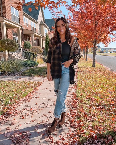 """Another gorgeous fall day in MN 🥰🍁 I'm just wrapping up a """"day in the life"""" in stories today if you want to see a little behind the scenes 👀 Wore this look from the @revolve x @discovercotton Cotton Shop and it might be my favorite fall look yet 🙌🏼 Linked in my bio! #ad #shopcotton #revolveme #falloutfit #fallfashion #mnblogger    #LTKstyletip #LTKSeasonal #LTKshoecrush"""