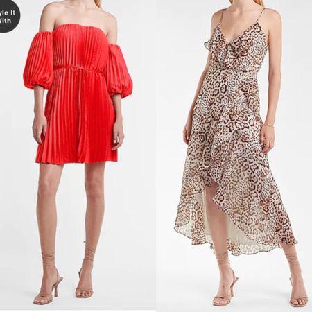Express finds. Wedding guest dresses   #LTKstyletip #LTKwedding #LTKunder100