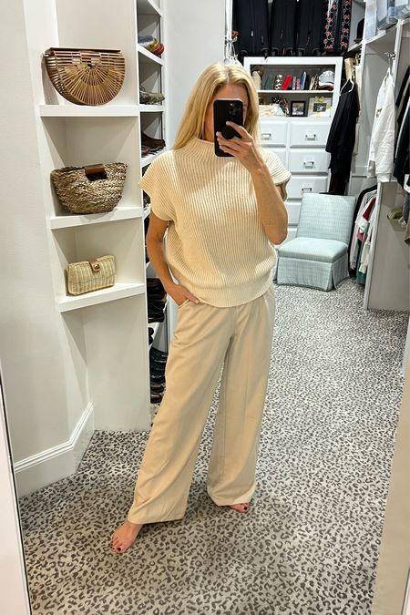 Great monochromatic look. Size S sweater and M pants     #LTKunder100 #LTKSeasonal #LTKstyletip