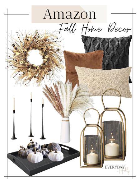 Fall home decor • amazon home decor • fall decorations • fall pillows • fall mugs • neutral decor • modern farmhouse • amazon fall    #LTKSeasonal #LTKHoliday #LTKunder50