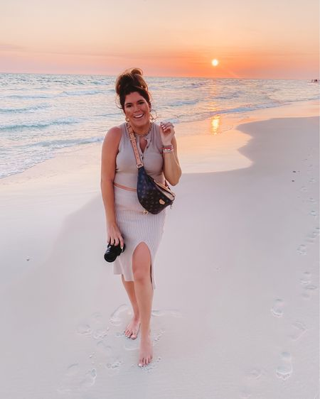 Sunset photos on the beach tonight with my bae 💞 🌅 this trip...I'm head over heels in love with it!  . .  http://liketk.it/3cfjK @liketoknow.it #liketkit #LTKtravel #LTKunder50