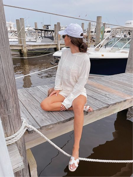 Currently craving all summer shorts sets! Love this one that's perfect for wearing over a swimsuit - size up, it runs small! Linked a bunch of other options too!   #LTKstyletip #LTKunder100