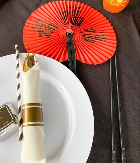 Hosted a Hibachi party for our daughter. So much fun. Ordered these fans and chopsticks. #AtHomeParties #Chopsticks #JapaneseFans #Hibachi #TeenParties   #LTKhome #LTKfamily #LTKkids
