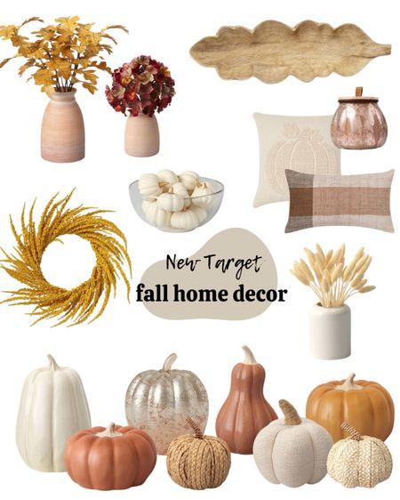 Fall decor, pumpkins, fall home decor, Target finds.   #LTKunder50 #LTKhome #LTKSeasonal
