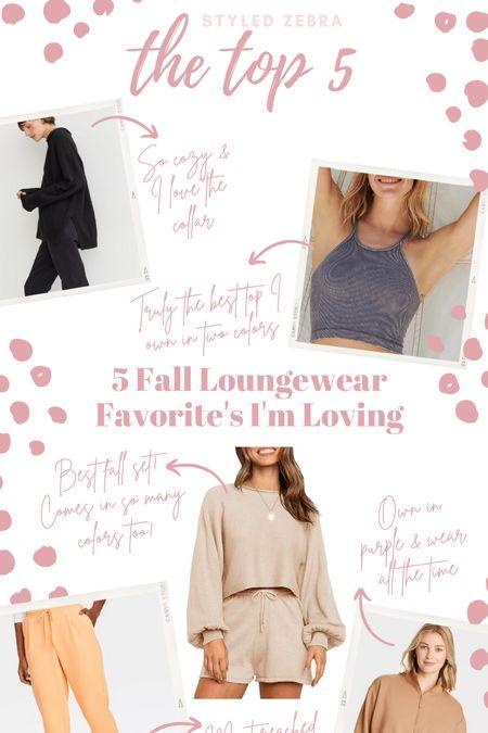 Fall loungewear favorites