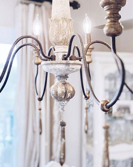 French Country Chandelier under $350. Arrived in one day! #liketkit #StayHomeWithLTK #LTKhome @liketoknow.it http://liketk.it/353LO