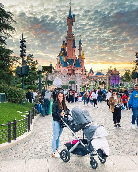 Disneyland but make it French  Double stroller, vegan leather jacket, sneakers  #LTKeurope #LTKtravel #liketkit #LTKfamily @liketoknow.it.family @liketoknow.it.europe @liketoknow.it Shop my daily looks by following me on the LIKEtoKNOW.it shopping app http://liketk.it/2L4vj