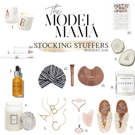 11 super CUTE stocking stuffer ideas for her (all under $50) I'm pretty sure this would be my dream stocking, Santa Baby 🎅🏻🤞🏻 You can shop this list on #themodelmama in my Holiday Gift Guide (link in bio) or on @liketoknow.it app ❤️ http://liketk.it/2yTEm #liketkit #LTKholidaystyle #LTKholidaywishlist #LTKunder50 Shop your screenshot of this pic with the LIKEtoKNOW.it app