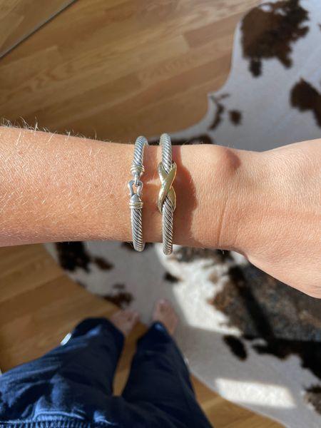 David yurman bracelet the styled collection look a like silver bracelet wrist candy    #LTKunder50 #LTKSale #LTKstyletip