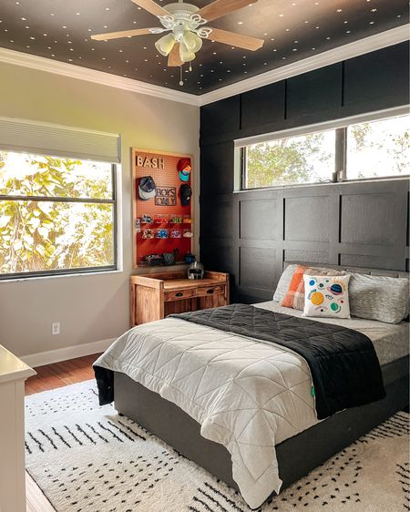 After!!!! His bedroom turned out Out of This World!!! Pun intended 😂😂. What do you think?? Swipe for some befores!   See something you like? http://liketk.it/3baCK #liketkit @liketoknow.it #LTKkids #LTKhome @liketoknow.it.home