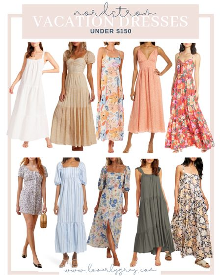On the hunt for the best summer dress for your next beach vacation 🏖 I'm rounding upper all my favorites!   #LTKtravel #LTKunder100 #LTKstyletip