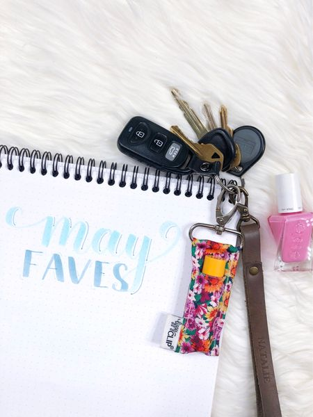 Affordable teacher, bridesmaid, coworker, best friend, mother, or anyone else gift ideas!  Personalized leather key fobs perfect for an on-the-go woman or for finding your keys when they're lost in your bag.   Spring nail polish sure to put a smile on your face! I love this Essie gel couture polish in light bubblegum pink.   #LTKunder50 #LTKitbag #LTKstyletip