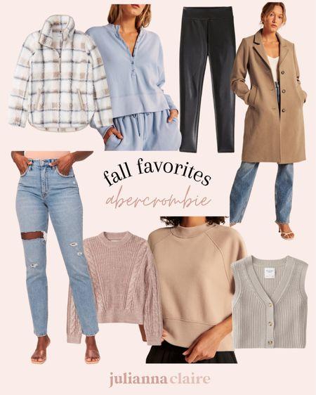 Abercrombie fall favorites   #LTKunder50 #LTKstyletip #LTKSeasonal