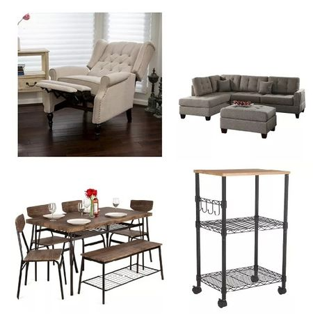 If you're like me you're looking to refresh your living quarters. I'm contemplating all of these items to refresh my home. I've had my furniture now for probably 8 years and I'm looking to change and refresh everything. I'd love to hear what you're trying to do with your home to refresh and give it a little more sparkle.  #LTKhome #LTKstyletip #LTKsalealert