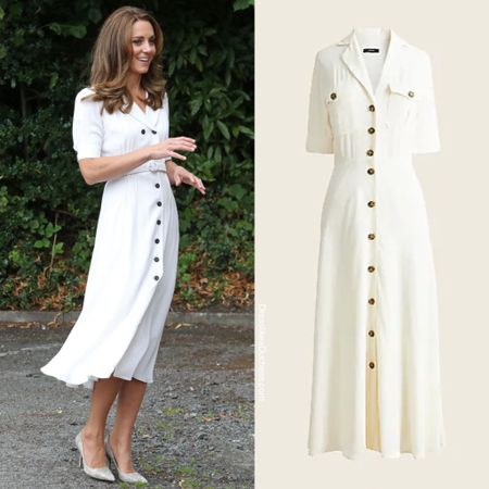 Kate Middleton shirtdress dupe #midi   #LTKstyletip