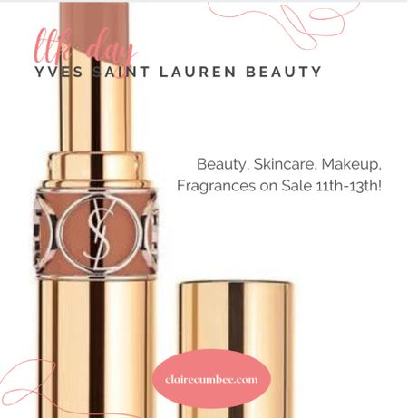 LTK day is here! Check out Yves Sant Lauren Beauty ( YSL ) Rouge Skincare, lipstick, serum, bronzer, designer beauty Huge sale!   #LTKsalealert #LTKbeauty #LTKunder100  #LTKbeauty #LTKDay #LTKsalealert