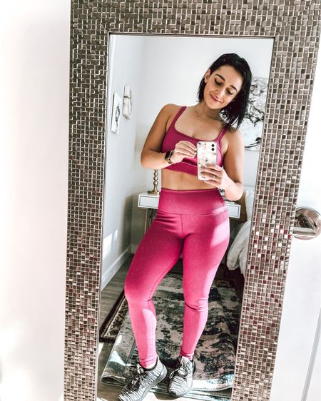 This set has me feeling pretty in pink 💕 http://liketk.it/31CmP #liketkit @liketoknow.it #LTKunder100 #LTKstyletip #LTKfit   Download the LIKEtoKNOW.it shopping app to shop this pic via screenshot