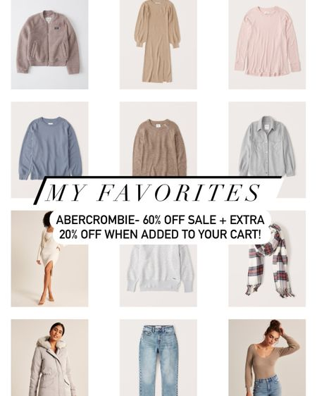 Up to 60% clearance - Abercrombie + 20% off extra when added to check out! http://liketk.it/35McD #liketkit @liketoknow.it