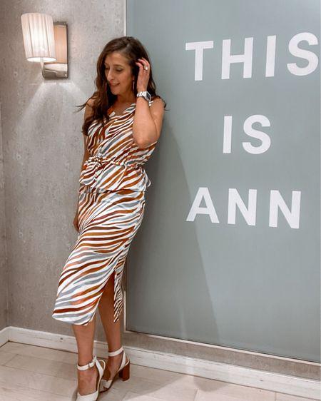 Ann Taylor zebra set   http://liketk.it/3iEME #liketkit @liketoknow.it #LTKcurves #LTKstyletip #LTKworkwear