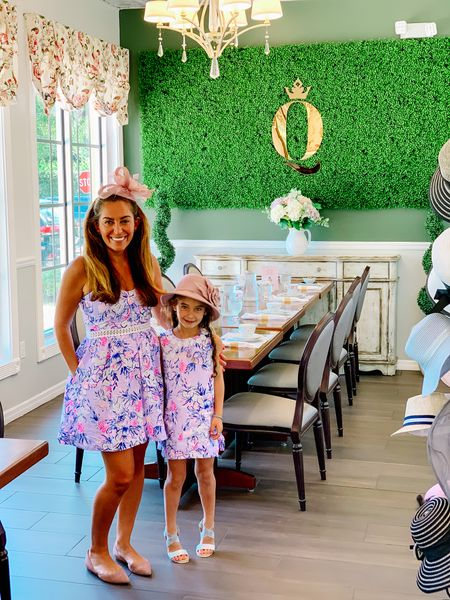 Just before the start of the school year, little miss and I got all gussied up in our favorite #lillypulitzer mommy and me twinning outfits and headed to a tea party just us, sort of as an initiation to being in big girl school. Was quite literally the #bestdayever being treated like queens for a royal princess tea & playing dress up. So in honor of Women's Empowerment Day, I'm sharing our special photos. Not to boast, but to remind myself that I'm raising a CONFIDENT and intelligent young lady worthy of love and the finer things in life. What experiences do you enjoy with your littles? 👸🏻👒 #momgirlblog #competition #womensempowermentday   #LTKSeasonal #LTKbacktoschool #LTKkids