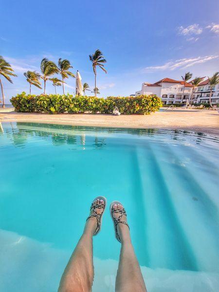 Beach Sandals http://liketk.it/3hT1i @liketoknow.it #liketkit #LTKDay #LTKunder50 #LTKstyletip #LTKtravel #LTKswim