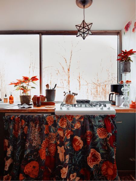 Kitchen cabinet curtains http://liketk.it/38OcU #liketkit @liketoknow.it #StayHomeWithLTK @liketoknow.it.home Download the LIKEtoKNOW.it shopping app to shop this pic via screenshot