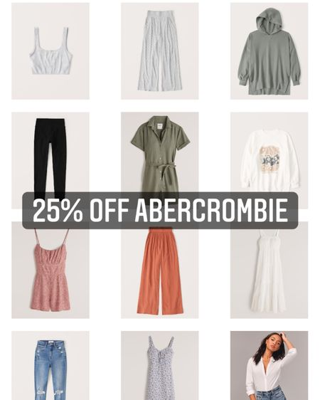 25% off Abercrombie! Here are some of my favorites - shop this pic to get the discount! http://liketk.it/3cu8h #liketkit @liketoknow.it