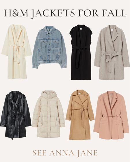 H&M Jackets For Fall 🍂  #hmfashion #hmoutfit #hmclothing #falljacket #fallstyle #fallfashion #jacket #affordablefashion #neutralfashion #fallclothing  #LTKstyletip #LTKunder100 #LTKSeasonal