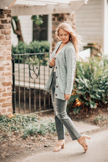 Sweater Weather is near! I love a good cardigan with jeans      #LTKunder50
