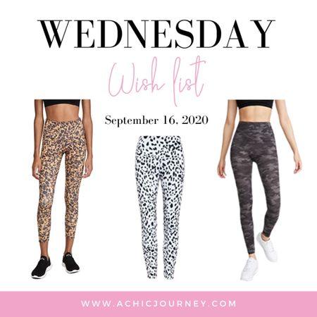 Wednesday Wish List: Leggings Edition http://liketk.it/2ZGKQ #LTKunder100 #LTKsalealert #LTKunder50 #activewear #leggings #liketkit @liketoknow.it