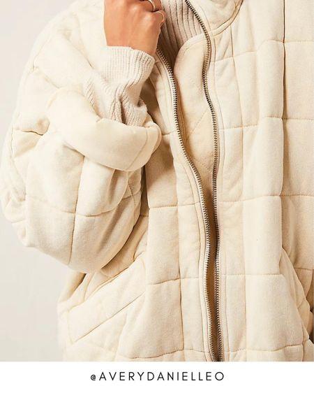 Trending Now: Free People Quilted Dolman Jacket 🤩  #LTKfit #LTKstyletip