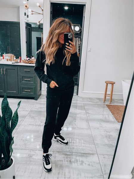 Size 4 in Lulu joggers and hoodie